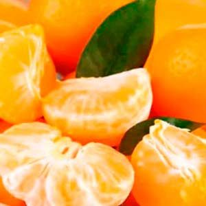 zumo de mandarina ecológica