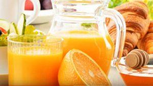 jugo de naranja natural