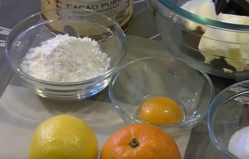 Ingredientes para trufas