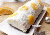 coca de coco y naranjas