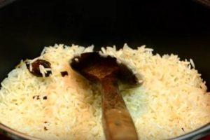 arroz de naranja
