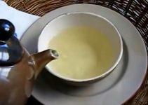 Infusión con hojas de narajo y limón